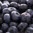 Stock Photo: Lots of blueberries