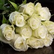 Bouquet of white roses — Stock Photo #31364107