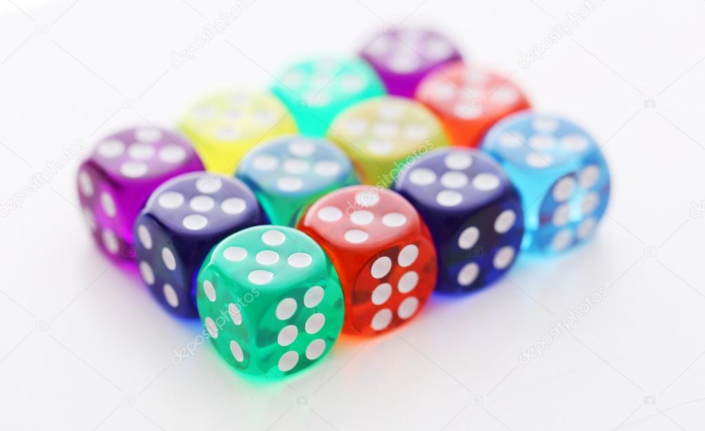 Many Colorful Dice Are Lying