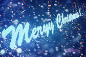 Wish everyone happy new year and merry christmas — Stock Photo