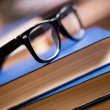 Glasses and book — Stock Photo #37176637