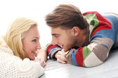 Couple in love with each other — Stock Photo