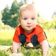 Adorable kid with blue eyes — Stock Photo #37591731