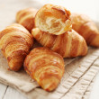 Fresh french croissants — Stock Photo #38085021