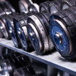 Dumbbells — Foto Stock #38132143