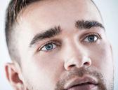 Closeup of a handsome man — Stock Photo