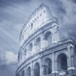 Colosseum famous in Rome — Stock Photo #39717569
