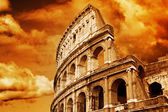 Colosseum beroemd in rome — Stockfoto
