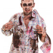Stock Photo: Creepy zombie