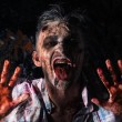 Creepy scary zombie — Foto de stock #39834335