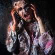Creepy scary zombie — Stock Photo #39834349