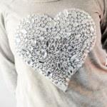 Big, shiny heart — Stock Photo #40662465