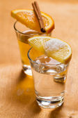 Whiskey and tequila — Stock Photo