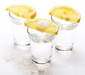 Tequila shots — Stock Photo