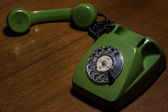 Retro phone — Stock Photo