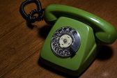 Retro telefon — Stock fotografie