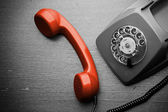 Old, vintage phone — Stock Photo