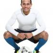Football player — Stock Photo #41674153