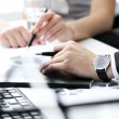 Working process at business meeting — Stock Photo #41989133