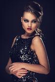 Gorgeous elegant woman — Stock Photo