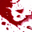Blood on white background — Stock Photo #42385613