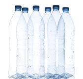 Empty water bottles — Stock Photo