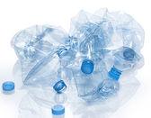 Utilization - water bottle — Stock Photo