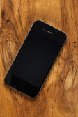 Black smartphone — Stock Photo