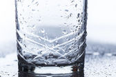 Empty glass of water — Stock Photo