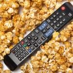 Delicious popcorn — Stock Photo #43667579