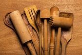 Посуда на столе — Стоковое фото