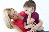 Mother with adorable kid — Stock Photo