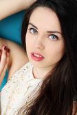 Attractive seductive girl — Stock Photo