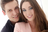 Couple are happy together — Stock Photo