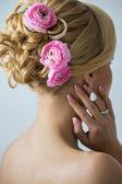 Wedding. Beautiful bride — Stock Photo