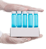 Vials of vaccine — Stock Photo