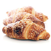 Delicious croissants — Stock Photo