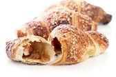 Delicious croissants — Stock Photo