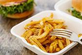 Chutné karbanátky na stůl — Stock fotografie