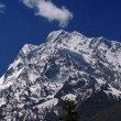 Mountains against the blue sky — Stock Photo #19123583
