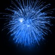 Blue fireworks — Stock Photo #31036141