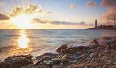 Faro de la costa — Foto de Stock