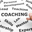 Coaching concept — Stockfoto