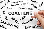 Koncepcja coachingu — Zdjęcie stockowe