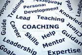 Coaching concept vignetting — Stock Photo