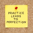 Stock Photo: Practice Leads To Perfection