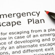 Emergency Escape Plan — Stock Photo #15727107