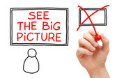 See The Big Picture — Stock Photo