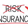 Stock Photo: Insurance Not Risk