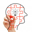 Creative Thinking Concept - Stockfoto